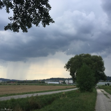 Rainfall in the distance